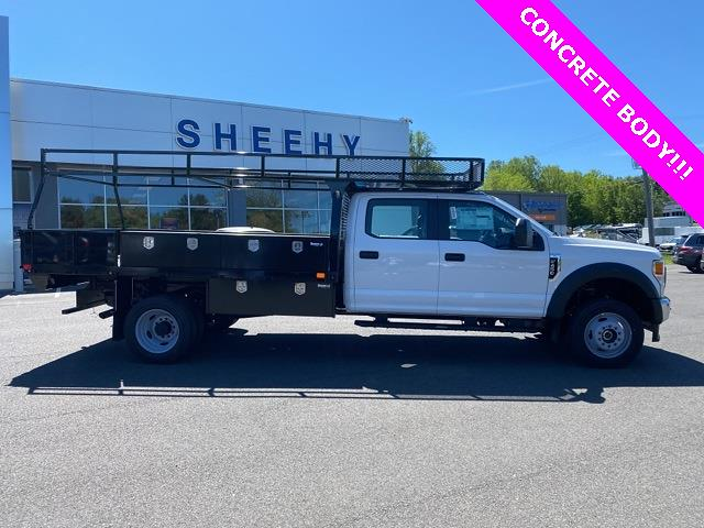2021 Ford F-450 Crew Cab DRW 4x4, PJ's Contractor Body #YD10327 - photo 5