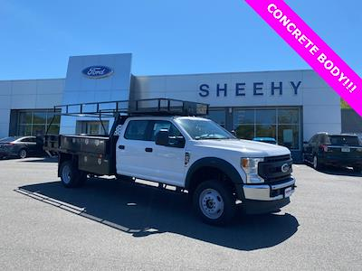 2021 Ford F-450 Crew Cab DRW 4x4, PJ's Contractor Body #YD10327 - photo 1