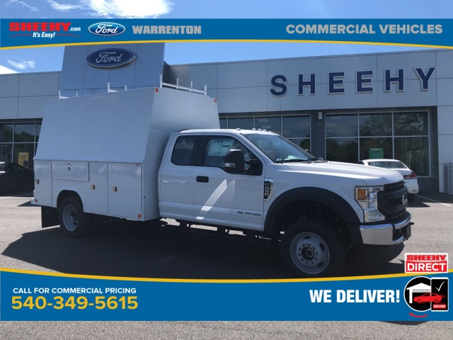 2020 F-450 Super Cab DRW 4x4, Reading Service Body #YD12462 - photo 1