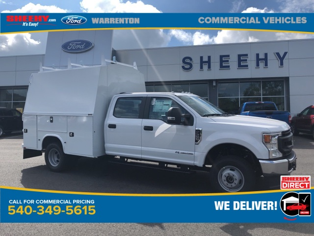 2020 Ford F-350 Crew Cab DRW 4x4, Knapheide Service Body #YD12579 - photo 1