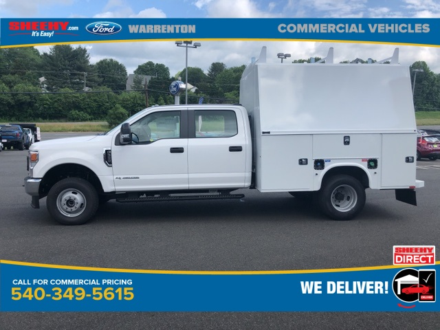 2020 Ford F-350 Crew Cab DRW 4x4, Knapheide KUVcc Service Body #YD12579 - photo 11