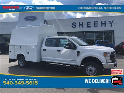 2020 Ford F-350 Crew Cab DRW 4x4, Knapheide KUVcc Service Body #YD12579 - photo 1