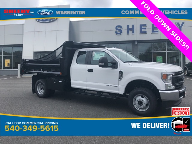 2020 Ford F-350 Super Cab DRW 4x4, Rugby Dump Body #YD12593 - photo 1
