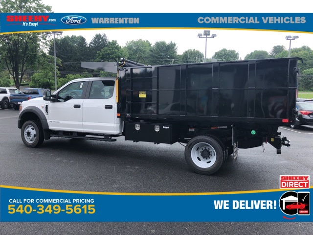 2020 Ford F-550 Crew Cab DRW 4x2, PJ's Platform Body #YD13034 - photo 1