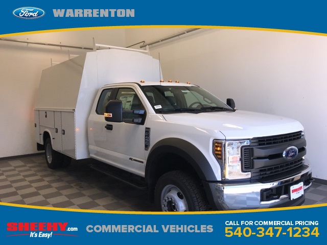 2019 F-450 Super Cab DRW 4x4,  Knapheide Service Body #YD16073 - photo 1