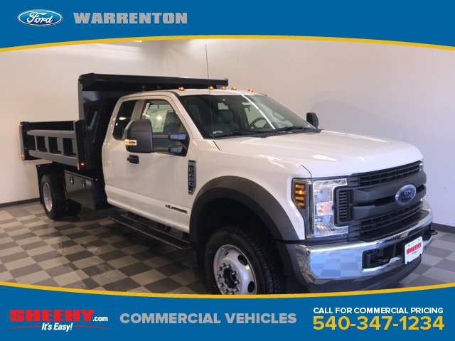 2019 F-450 Super Cab DRW 4x4,  Rugby Dump Body #YD30336 - photo 1