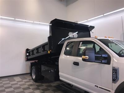 2019 F-450 Super Cab DRW 4x4,  Rugby Eliminator LP Steel Dump Body #YD30336 - photo 9