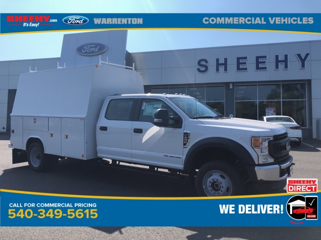 2020 Ford F-450 Crew Cab DRW 4x4, Reading Panel Service Body #YD42322 - photo 1