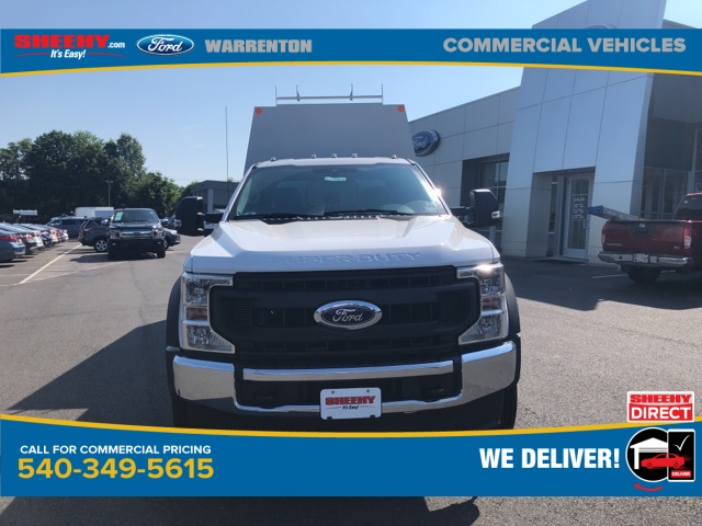 2020 Ford F-450 Crew Cab DRW 4x4, Reading Panel Service Body #YD42322 - photo 3