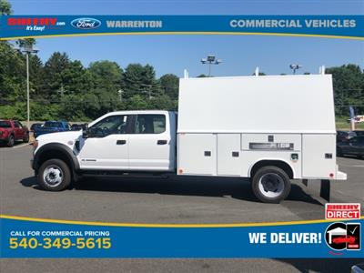 2020 Ford F-450 Crew Cab DRW 4x4, Reading Panel Service Body #YD42322 - photo 11