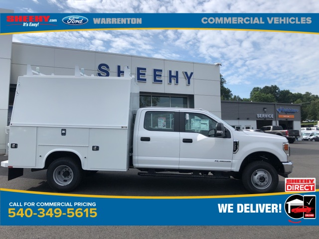 2020 Ford F-350 Crew Cab DRW 4x4, Knapheide Service Body #YD42391 - photo 1