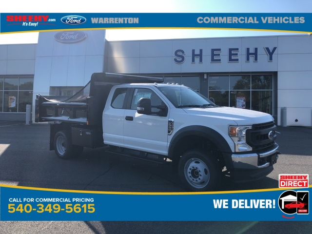 2020 Ford F-550 Super Cab DRW 4x4, Rugby Eliminator LP Steel Dump Body #YD42406 - photo 1
