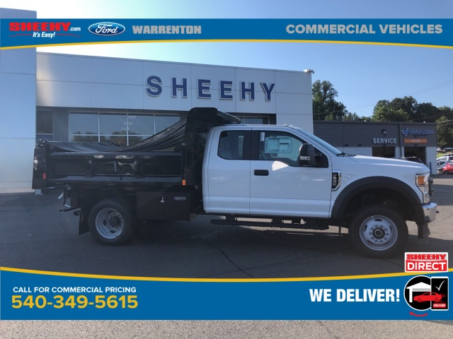 2020 Ford F-550 Super Cab DRW 4x4, Rugby Eliminator LP Steel Dump Body #YD42406 - photo 4