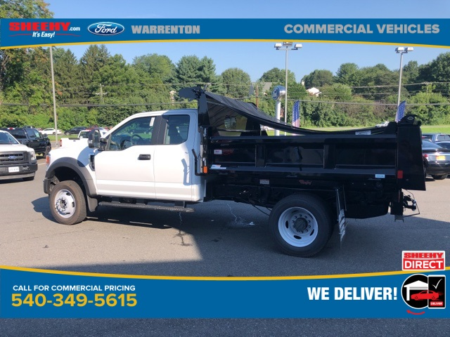 2020 Ford F-550 Super Cab DRW 4x4, Rugby Eliminator LP Steel Dump Body #YD42406 - photo 8