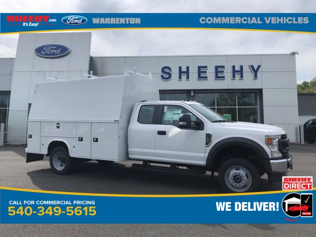 2020 Ford F-550 Super Cab DRW 4x4, Knapheide Service Body #YD42407 - photo 1