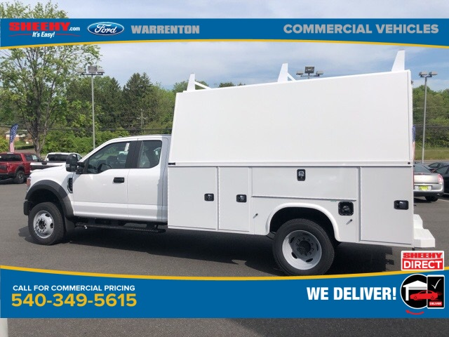2020 Ford F-550 Super Cab DRW 4x4, Knapheide KUVcc Service Body #YD42407 - photo 11