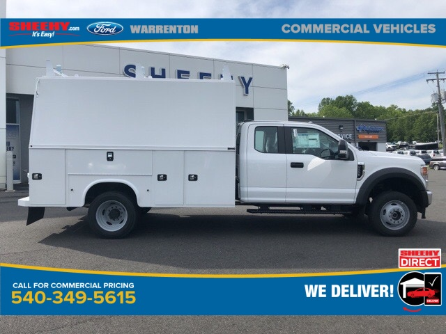 2020 Ford F-550 Super Cab DRW 4x4, Knapheide KUVcc Service Body #YD42407 - photo 4