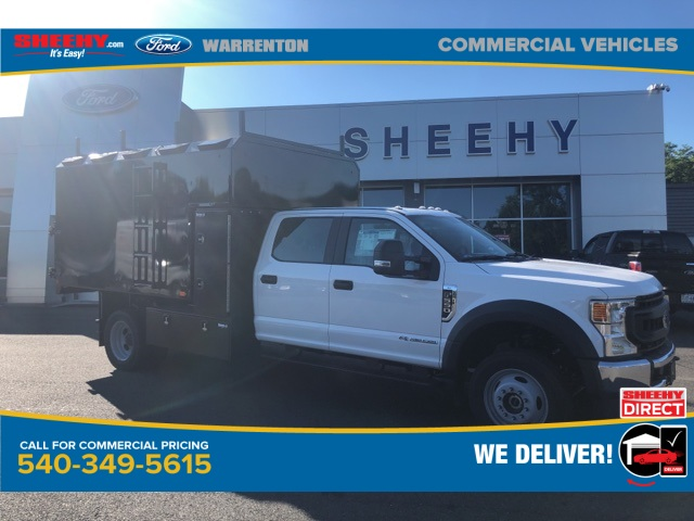 2020 Ford F-550 Crew Cab DRW 4x4, PJ's Chipper Body #YD42686 - photo 1