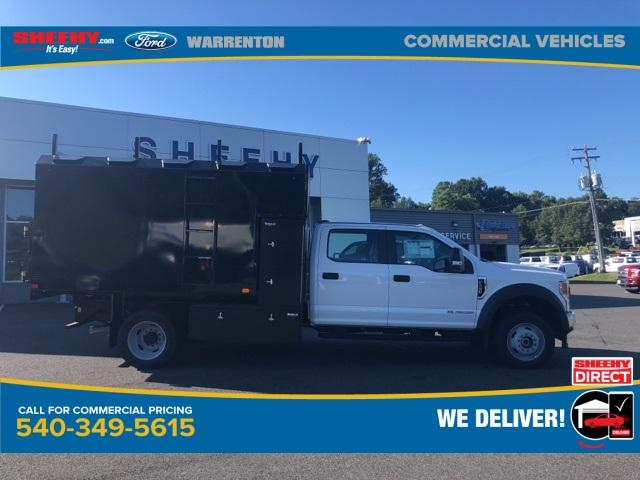 2020 Ford F-550 Crew Cab DRW 4x4, PJ's Chipper Body #YD42686 - photo 4