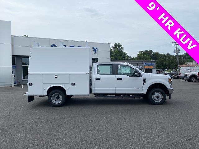 2021 Ford F-350 Crew Cab DRW 4x4, Enclosed Service Body #YD60253 - photo 5