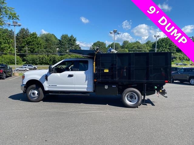 2021 F-350 Super Cab DRW 4x4,  PJ's Truck Bodies Landscape Dump #YD61410 - photo 9