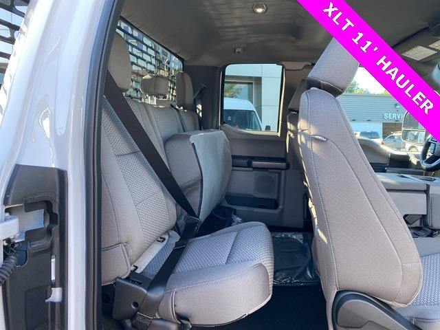 2021 Ford F-450 Super Cab DRW 4x4, PJ's Platform Body #YD61412 - photo 6