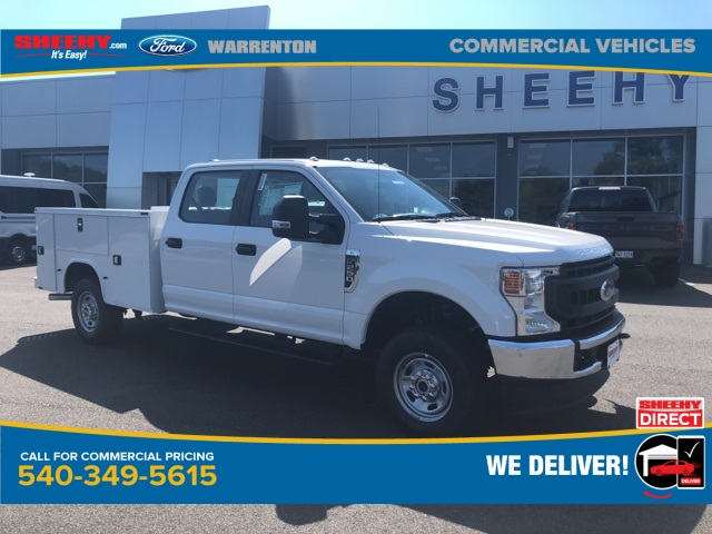 2020 Ford F-250 Crew Cab 4x4, Knapheide Steel Service Body #YD61678 - photo 1