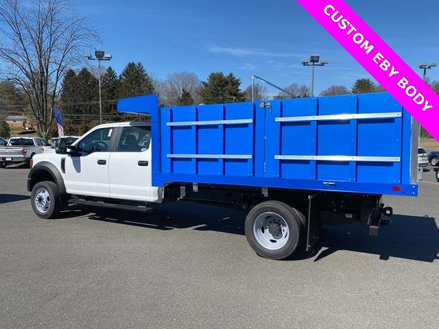2020 Ford F-550 Crew Cab DRW 4x4, M H EBY Landscape Dump #YD83173 - photo 9