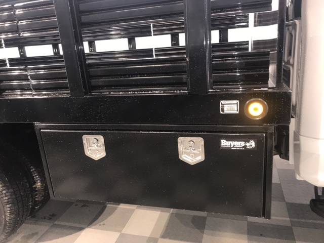 2019 F-350 Regular Cab DRW 4x4,  Reading Steel Stake Bed #YD87842 - photo 9