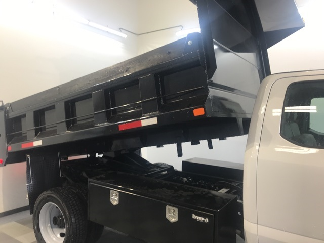 2019 F-450 Super Cab DRW 4x4,  Godwin 184U Dump Body #YD96713 - photo 12