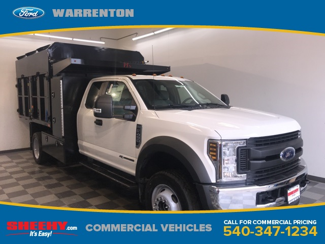 2019 F-450 Super Cab DRW 4x4,  PJ's Chipper Body #YD96714 - photo 1
