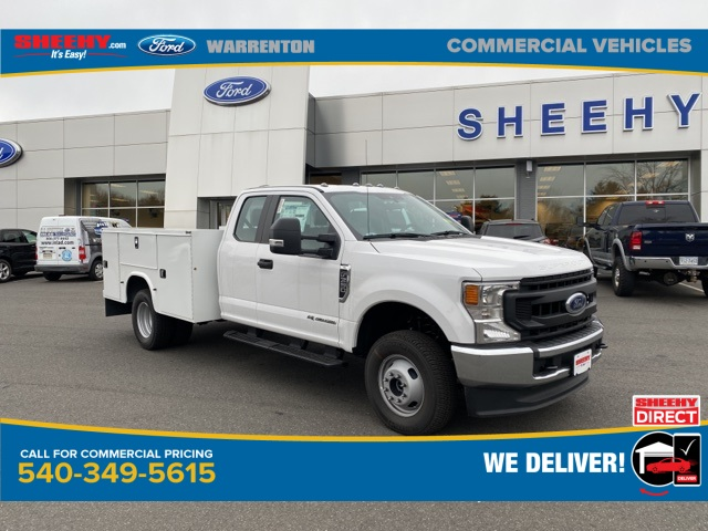 2020 Ford F-350 Super Cab DRW 4x4, Knapheide Steel Service Body #YE11582 - photo 1
