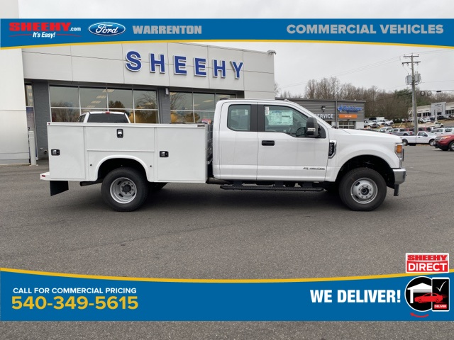 2020 Ford F-350 Super Cab DRW 4x4, Knapheide Steel Service Body #YE11582 - photo 4