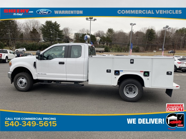 2020 Ford F-350 Super Cab DRW 4x4, Knapheide Steel Service Body #YE11582 - photo 9