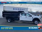 2020 Ford F-550 Crew Cab DRW 4x4, Rugby Landscape Dump #YE11635 - photo 4
