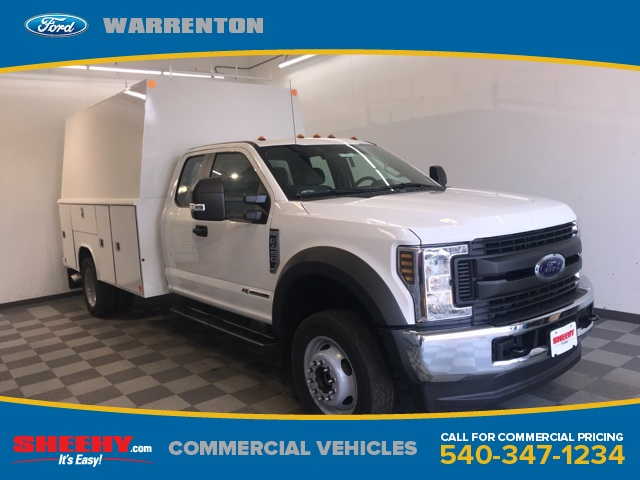 2019 F-450 Super Cab DRW 4x4,  Reading Service Body #YE28374 - photo 1