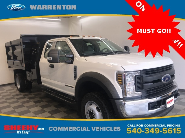 2019 F-550 Super Cab DRW 4x4,  Rugby Landscape Dump #YE28554 - photo 1