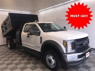 2019 F-550 Super Cab DRW 4x4, Rugby Landscape Dump #YE28554 - photo 9