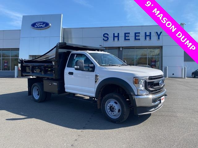 2020 Ford F-550 Regular Cab DRW 4x4, Rugby Eliminator LP Steel Dump Body #YE52158 - photo 1