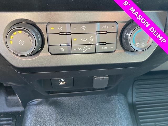 2020 Ford F-550 Regular Cab DRW 4x4, Rugby Eliminator LP Steel Dump Body #YE52158 - photo 11
