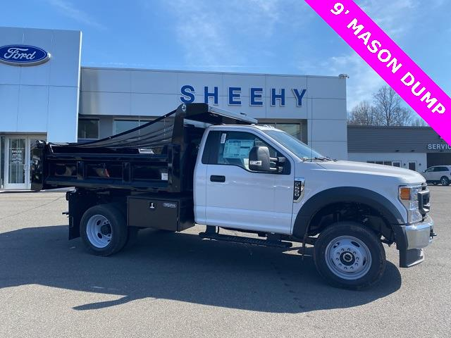 2020 Ford F-550 Regular Cab DRW 4x4, Rugby Eliminator LP Steel Dump Body #YE52158 - photo 5