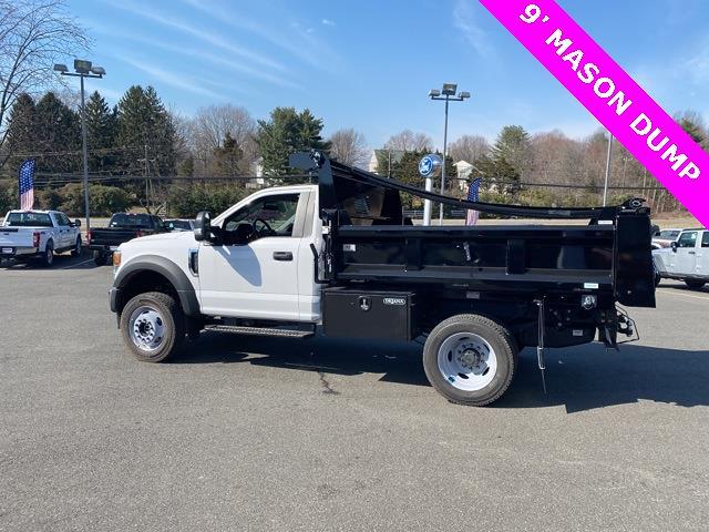 2020 Ford F-550 Regular Cab DRW 4x4, Rugby Dump Body #YE52158 - photo 1