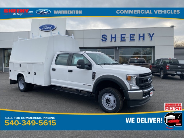 2020 Ford F-450 Crew Cab DRW 4x4, Knapheide KUVcc Service Body #YE52316 - photo 1