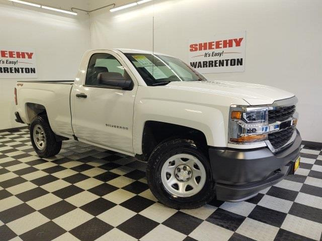 2018 Chevrolet Silverado 1500 Regular Cab 4x4, Pickup #YE58083A - photo 3