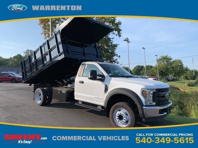 2019 F-550 Regular Cab DRW 4x2, Rugby Landscape Dump #YE60167 - photo 1