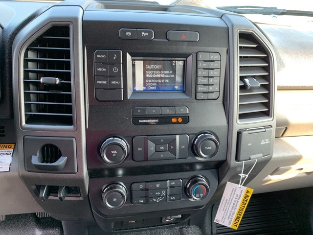2019 F-550 Regular Cab DRW 4x2,  Rugby Versa Rack Landscape Dump #YE60167 - photo 12
