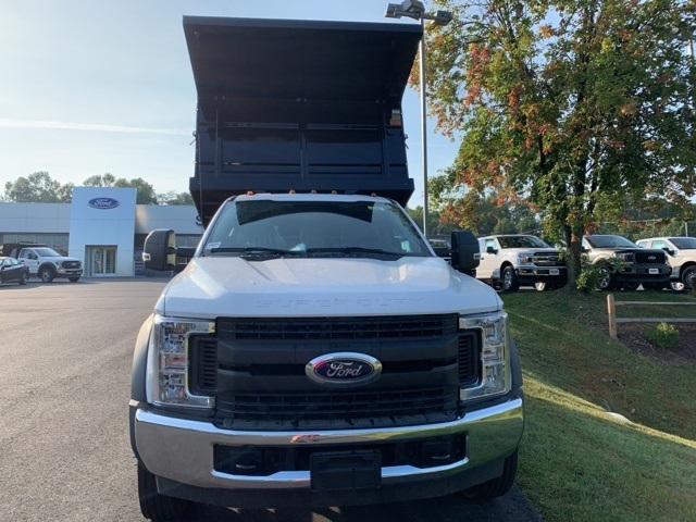 2019 F-550 Regular Cab DRW 4x2,  Rugby Versa Rack Landscape Dump #YE60167 - photo 4