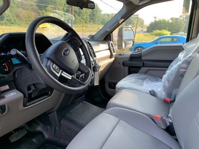2019 F-550 Regular Cab DRW 4x2, Rugby Versa Rack Landscape Dump #YE60167 - photo 8