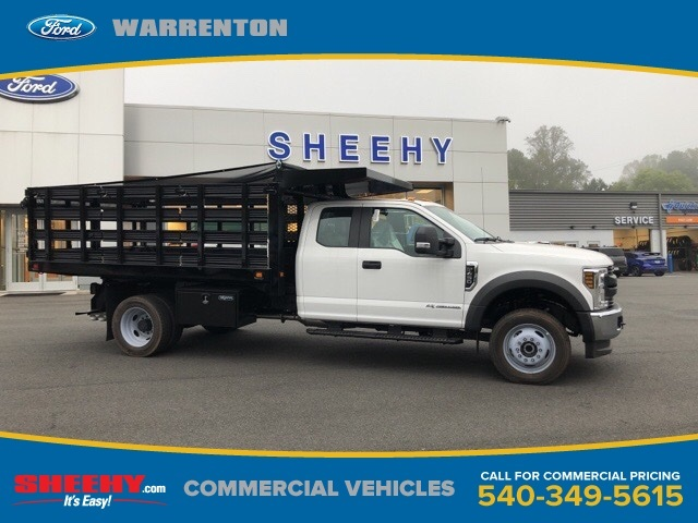 2019 F-450 Super Cab DRW 4x4, Knapheide Value-Master X Stake Bed #YE60171 - photo 1