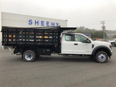 2019 F-450 Super Cab DRW 4x4, Knapheide Value-Master X Stake Bed #YE60171 - photo 6